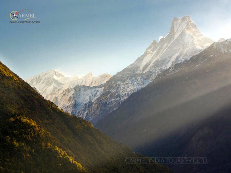 Nepal holiday package Annapurna trek