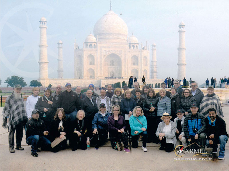 Indian Sojourn Agra off board experience at taj mahal