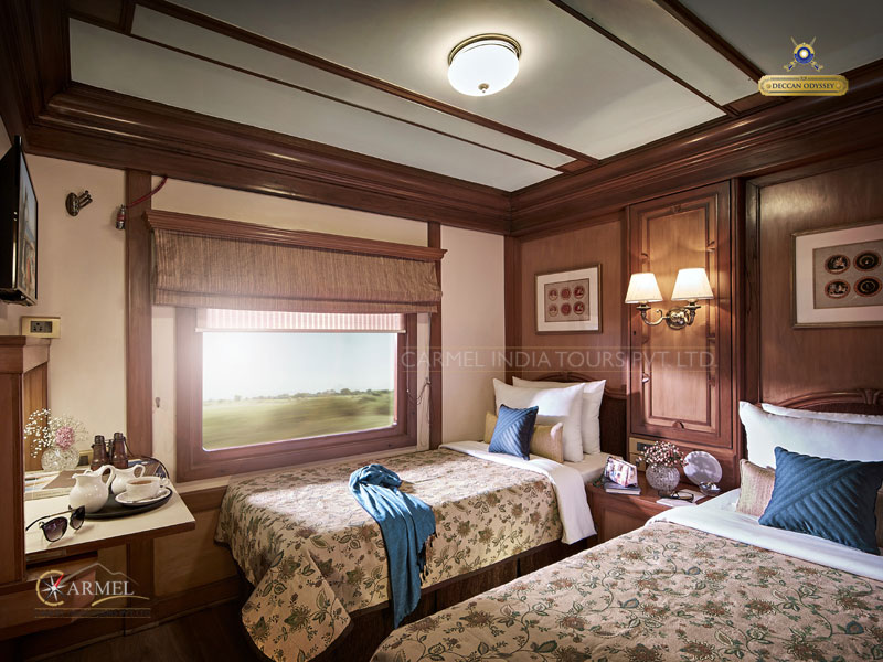 Twin Room on Deccan Odyssey