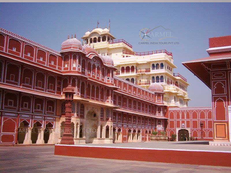 Jaipur Luxury Train Tour CIty Palace pink city jaipur