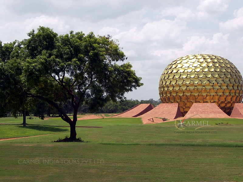 Matrimandir  Auroville, Ponicherry package tour