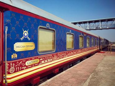 Deccan Odyssey luxury train journey India