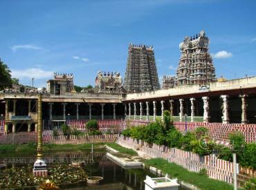 Meenakshi Temple, Madurai South India famous temple